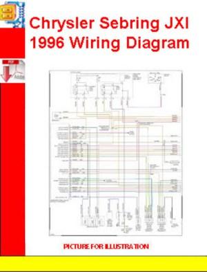 Chrysler Sebring JXI 1996 Wiring Diagram  Download
