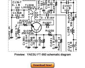 VERTEX YAESU FT950 Service Repair Manual Download