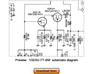Download VERTEX YAESU FT450 Service Repair Manual