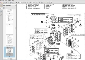 1997 Yamaha T50 HP outboard service repair manual