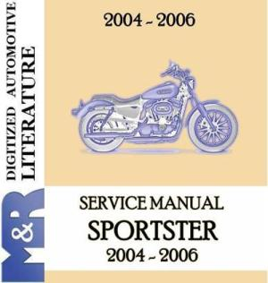 20042006 Harley Davidson Sportster ServiceShop Manual  Download