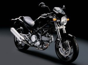 Ducati Monster 620 Dark Spare Parts List Catalog Manual 2006  Down