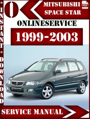 Mitsubishi Space Star 19992003 Service Repair Manual