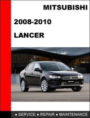 Mitsubishi Lancer 20082010 Factory Service Repair Manual