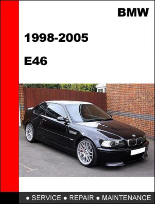 BMW E46 1999 2005 Workshop Service Repair Manual Download