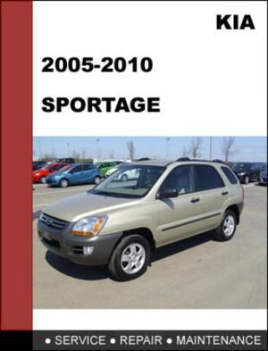KIA Sportage 20052010 OEM Service Repair Manual Download  Downloa