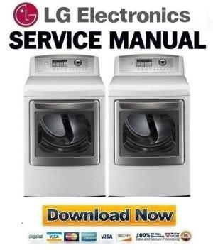LG DLE5001W Service Manual & Repair Guide  Download Manuals
