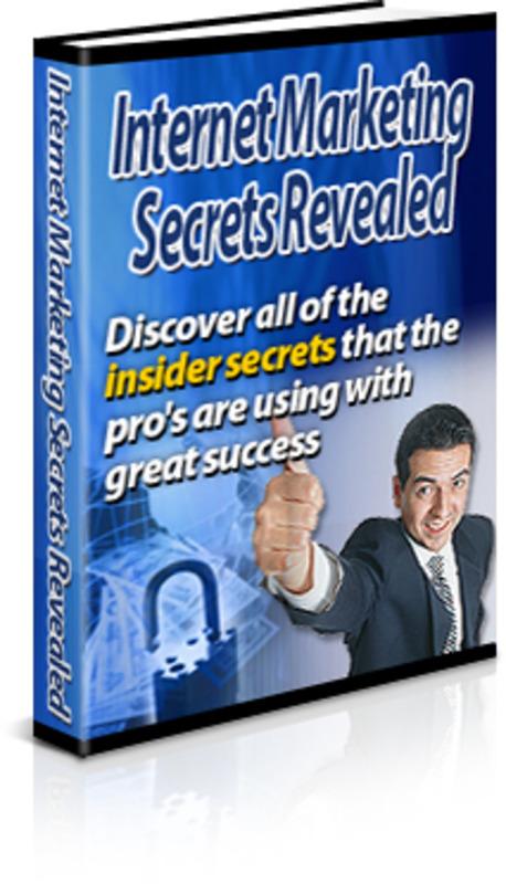 Internet Marketing Secrets Revealed Plr Download Business