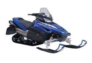 Yamaha RX1  RX Warrior snowmobile service manual repair 20032005