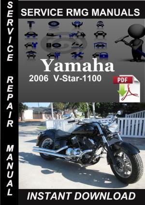 2006 Yamaha VStar1100 Service Repair Manual Download  Download M