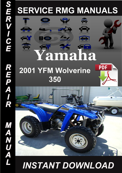 yamaha yfm350 wolverine pdf