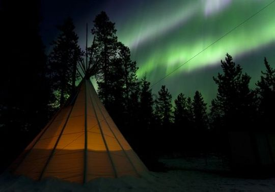 Northern Lights Camping Canada