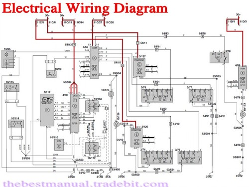 volvo xc60 2013 electrical wiring diagram manual instant