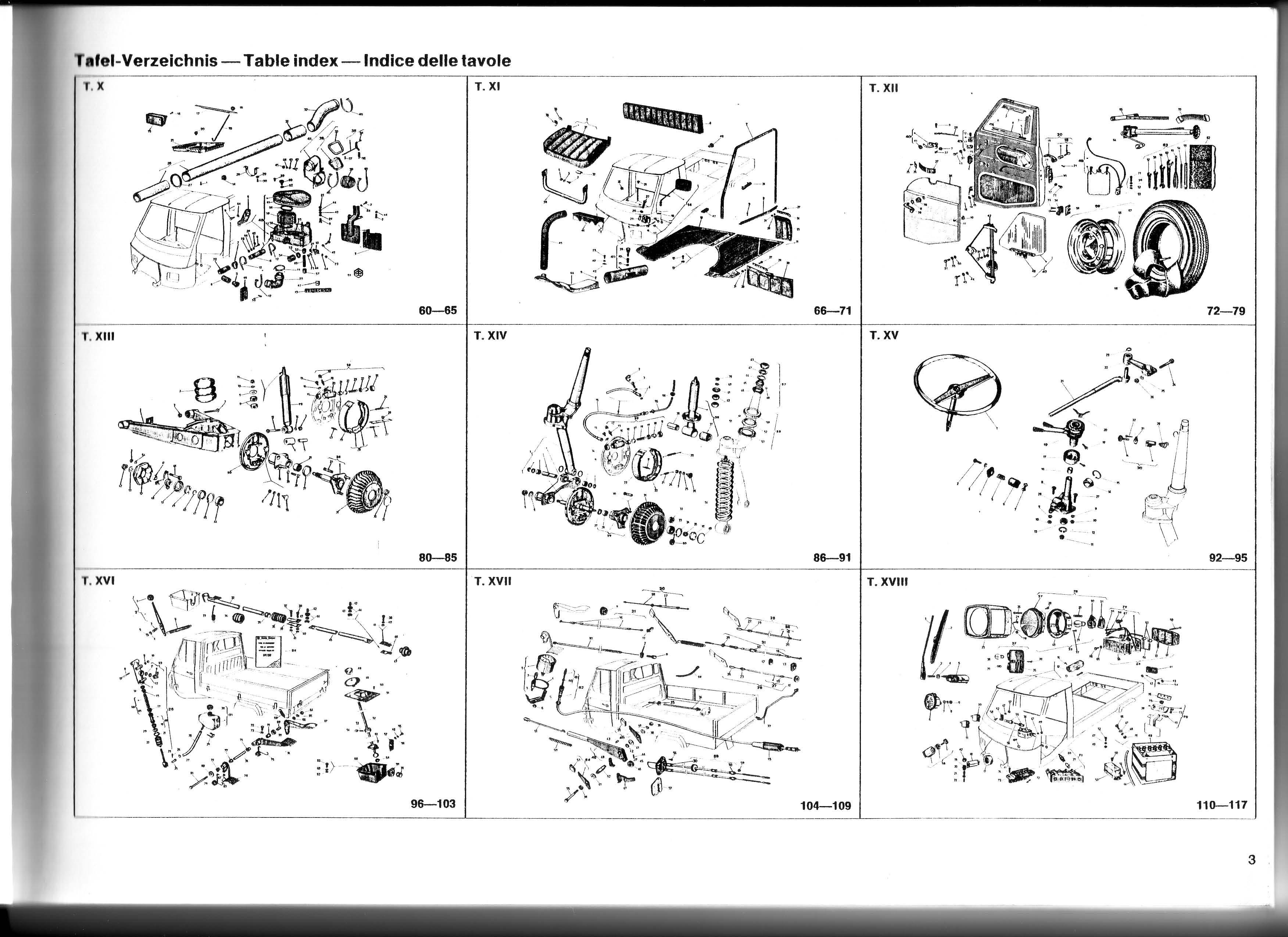 Spare Parts Catalog Citroen Ds 71