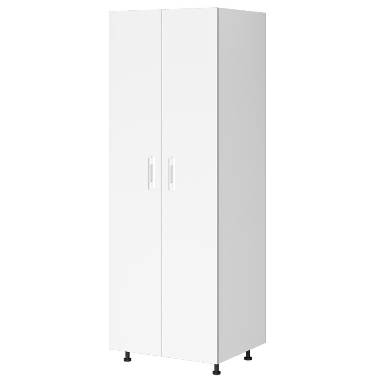 Kitchen Pantry Cabinet 800mm Painted 2 Door Flat Pack