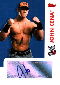 2009 Topps WWE Autograph