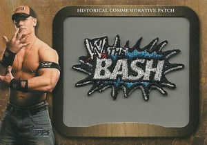2009 Topps WWE Commemorative Patch