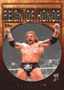 2009 Topps WWE Reign of Honor