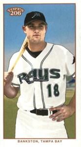 2002 Topps 206 Baseball 423 Wes Bankston Mini