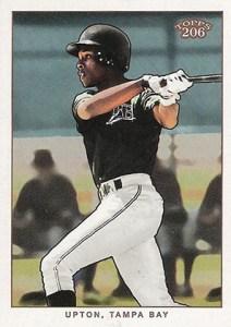 2002 Topps 206 Baseball 430 BJ Upton