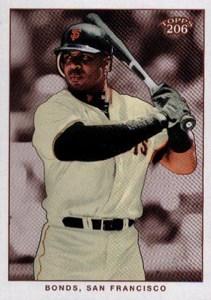 2002 Topps 206 Baseball Variations 310 Barry Bonds