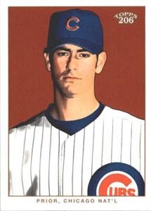 2002 Topps 206 Baseball Variations 350 Mark Prior