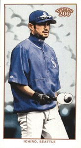 2002 Topps 206 Baseball Variations 360 Ichiro Mini