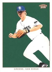 2002 Topps 206 Baseball Variations 428 Khalil Greene