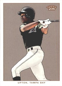 2002 Topps 206 Baseball Variations 430 BJ Upton
