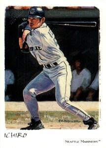 2002 Topps Gallery Baseball 100 Ichiro