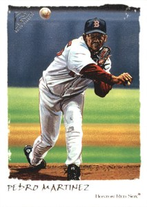 2002 Topps Gallery Baseball Variations 76 Pedro Martinez