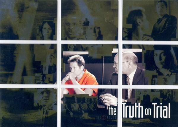 2003 Inkworks X-Files Season 9 Truth on Trial