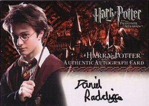 2004 Artbox Harry Potter and the Prisoner of Azkaban Update Autographs Daniel Radcliffe as Harry Potter