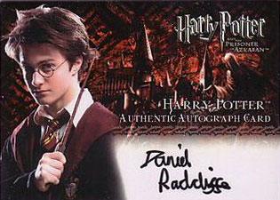 2004 Artbox Harry Potter and the Prisoner of Azkaban Update Harry Potter Autograph