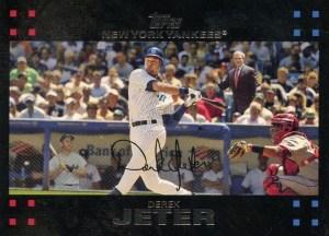 2007 Topps Baseball 40 Derek Jeter