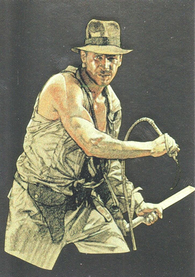 2008 Topps Indiana Jones Masterpieces Foil Silver