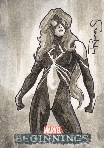 2011 Upper Deck Marvel Beginnings Sketch Card