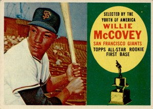 Topps All-Star Rookie Team - 1960 Topps Willie McCovey