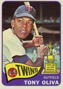 1965 Topps Tony Oliva All-Star Rookie