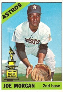 1966 Topps Joe Morgan All-Star Rookie