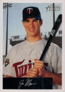 2002 Bowman Heritage Baseball Black Box Variation Joe Mauer