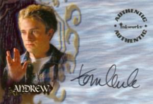 2002 Inkworks Buffy the Vampire Slayer Season 6 Autograph