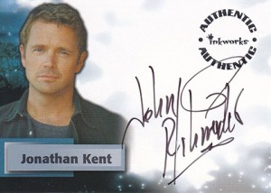 2002 Inkworks Smallville Season 1 Autographs A1 John Schneider
