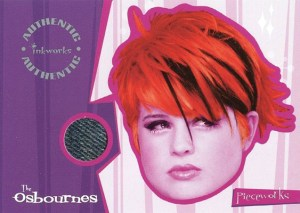 2002 Inkworks The Osbournes Pieceworks Kelly