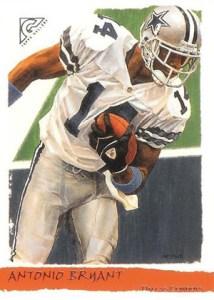 2002 Topps Gallery Football Variations 185 Antonio Brown