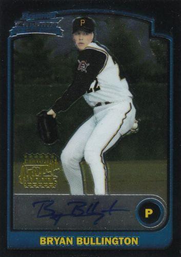 2003 Bowman Chrome Baseball Bryan Bullington Autograph
