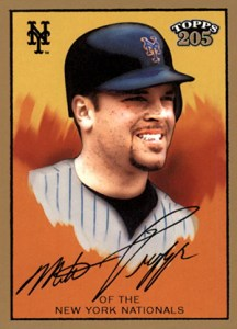 2003 Topps 205 12 Mike Piazza Yellow