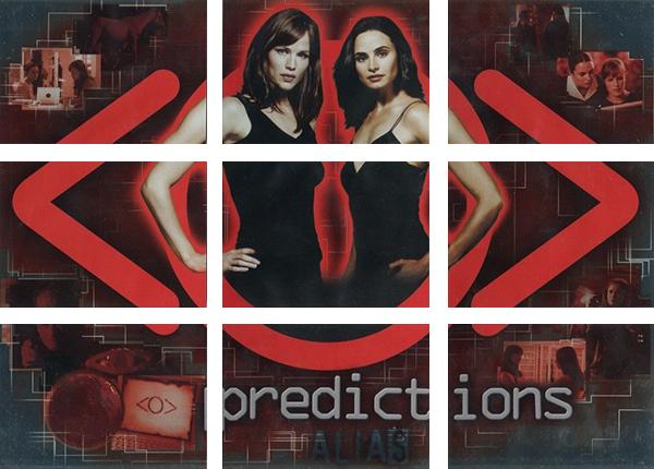 2006 Inkworks Alias Season 4 Predictions
