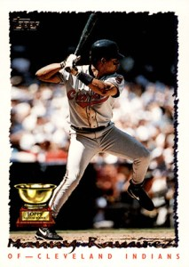 Topps All-Star Rookie Team - 1995 Topps Manny Ramirez