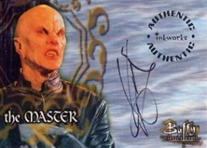 1998 Inkworks Buffy the Vampire Slayer Season 1 Autographs A4 Mark Metcalf as The Master